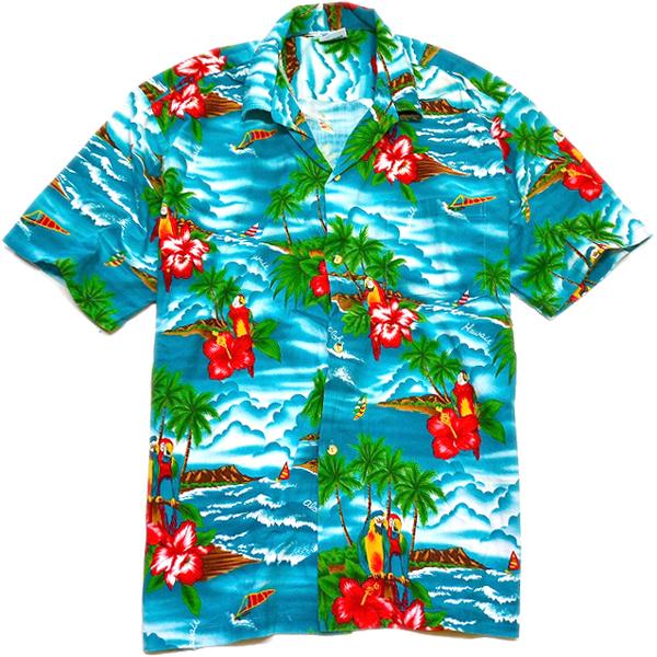 USEDアロハシャツ画像ハワイアンシャツ@古着屋カチカチ08