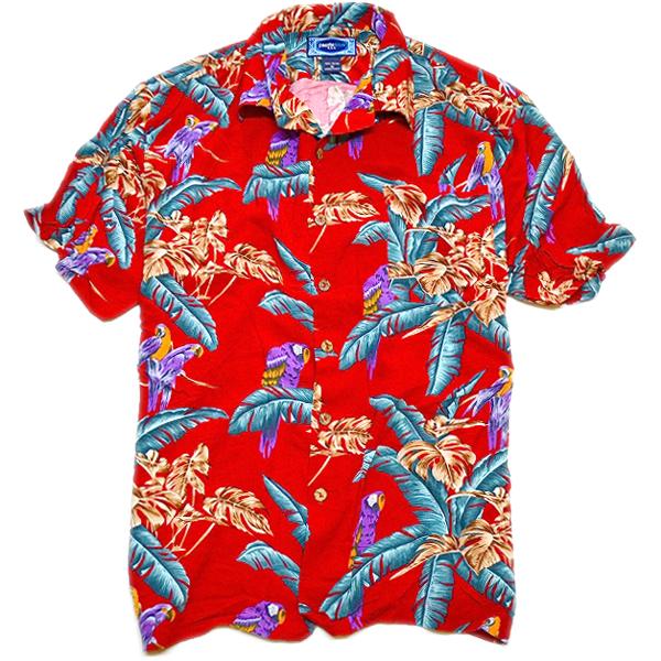 USEDアロハシャツ画像ハワイアンシャツ@古着屋カチカチ09
