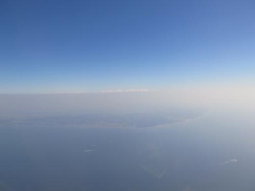 セントレア上空から