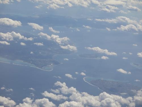 本島、伊江島、瀬底島