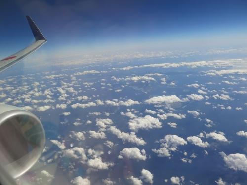 沖縄県上空