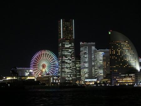 横浜の夜景 近眼じゃない世界