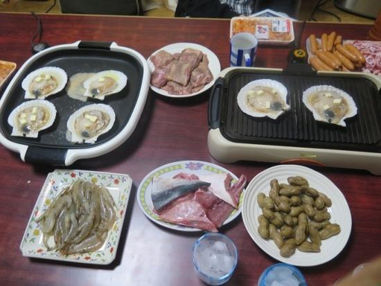 牛タンと海鮮焼き