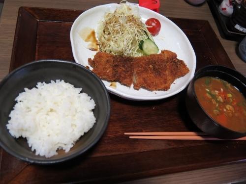 瀬戸豚カツ定食