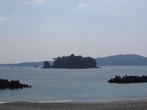 鯛島の手前