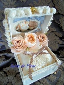 リングピロー~フルール・スタイルの宝石箱~