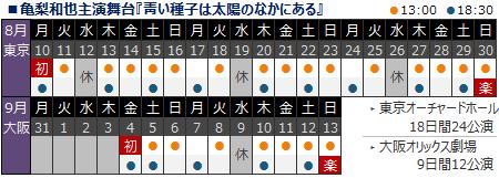 [日程]青い種子ALL1