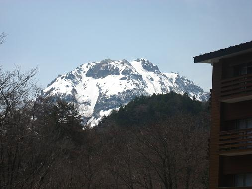 4月16日焼岳