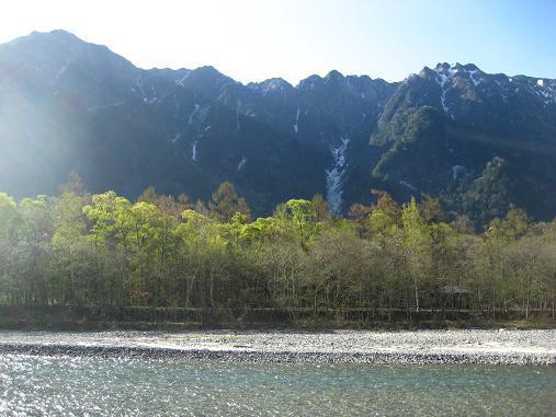 六百山霞沢岳