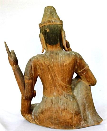 法雲寺・如意輪観音坐像(伊豆の観音像展図録掲載写真)