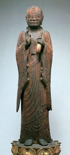 西住寺・宝誌和尚像(京博展示)