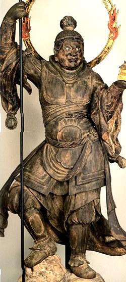 浄楽寺・毘沙門天立像