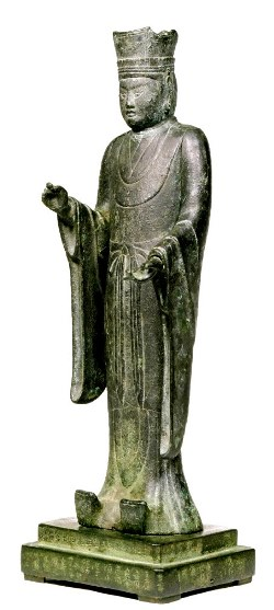 立山博物館の帝釈天像(旧呼称:立山神像)