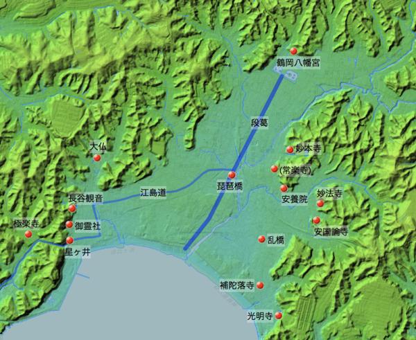 「玉匣両温泉路記」5月6日に訪れた鎌倉の寺社