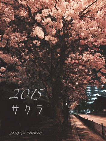 2015 桜 デザインクッカー