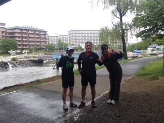 7月5日雨の練習会