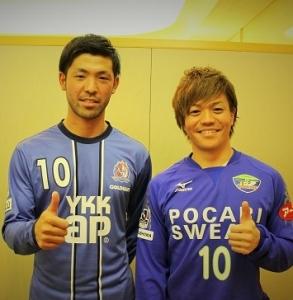森選手と大崎選手
