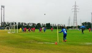 金沢と練習試合0406
