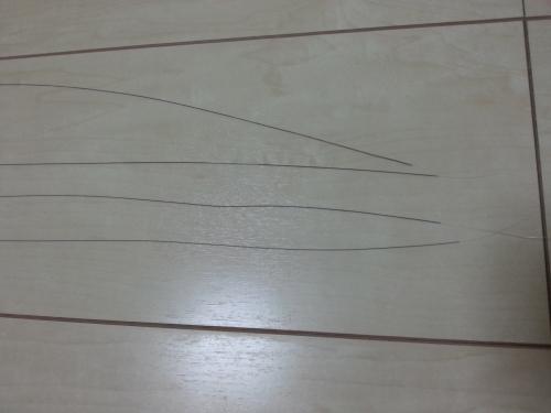 架線の材料7