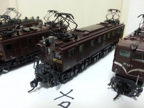 旧型機パンタグラフ 塗色考察6 15