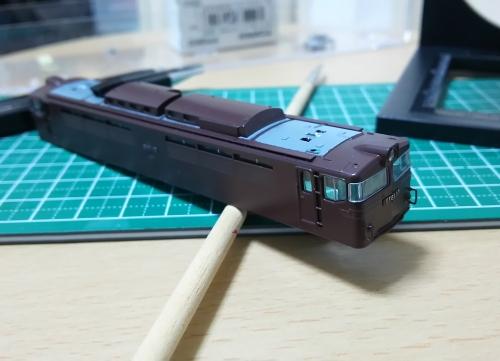 EF61茶色へ7