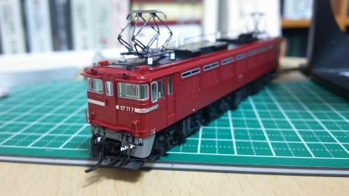 EF71カプラー交換9