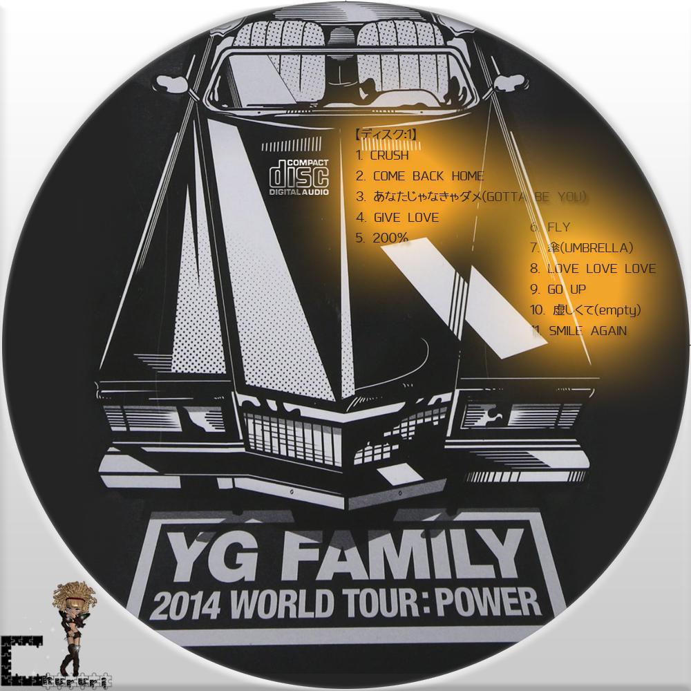2014 YG Family Concert in Seoul Live CD           Yg Family 2014