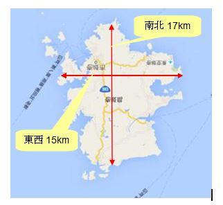 壱岐島平面