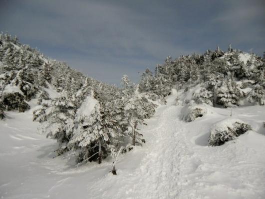 三ッ岳Ⅲ峰へ