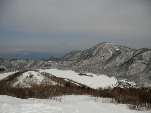 地蔵岳山頂から