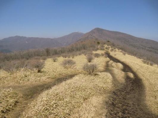 竈山から荒山、地蔵岳