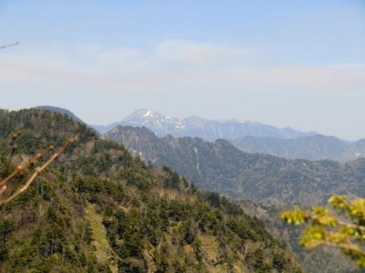 日光白根山と鋸岳、皇海山