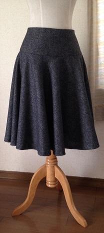 ウールグレースカート2