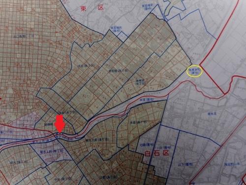 町名区域図①