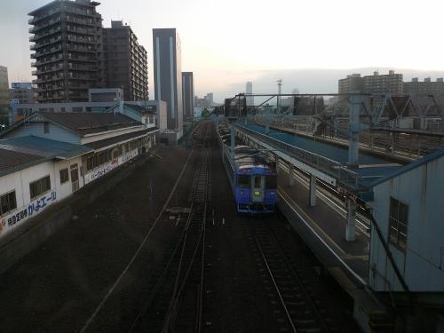 苗穂駅構内①