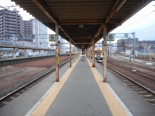 苗穂駅 構内③
