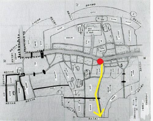近世村絵図