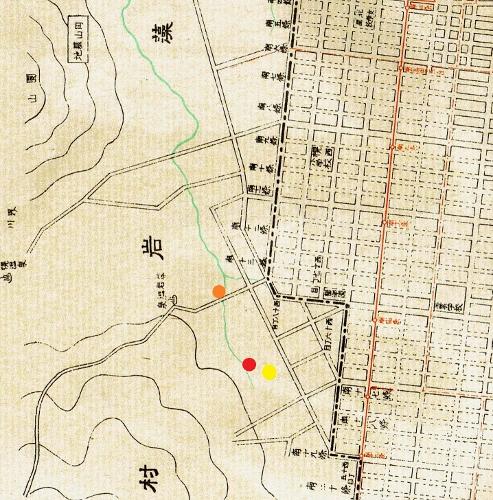 札幌市地図 1936年