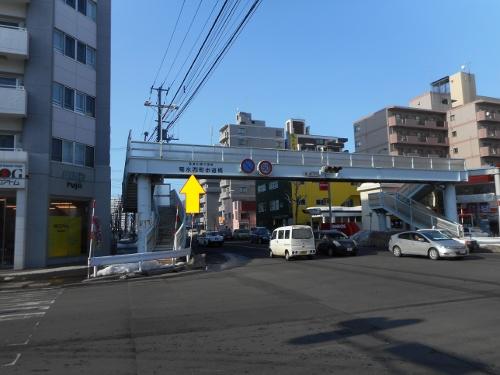 菊水西町歩道橋