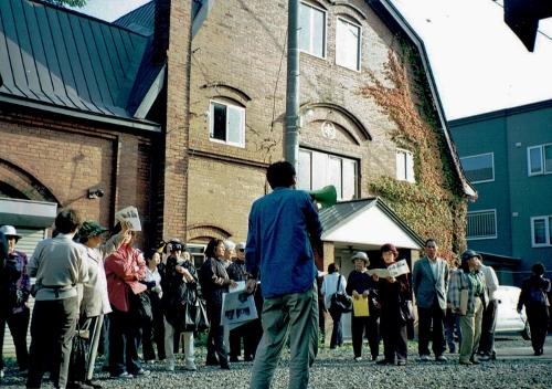 伏古Mさん 元牧舎1998年
