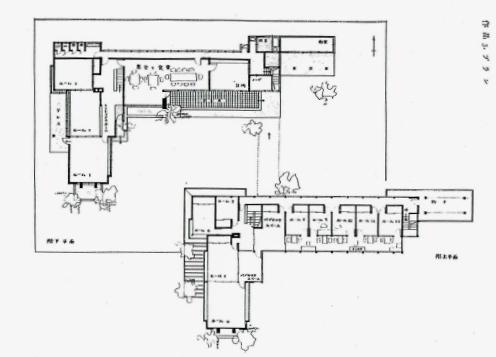 バチェラー学園 平面図