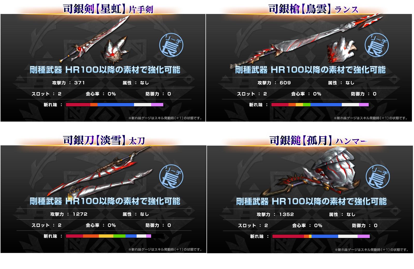 ハルド武器Ⅱ