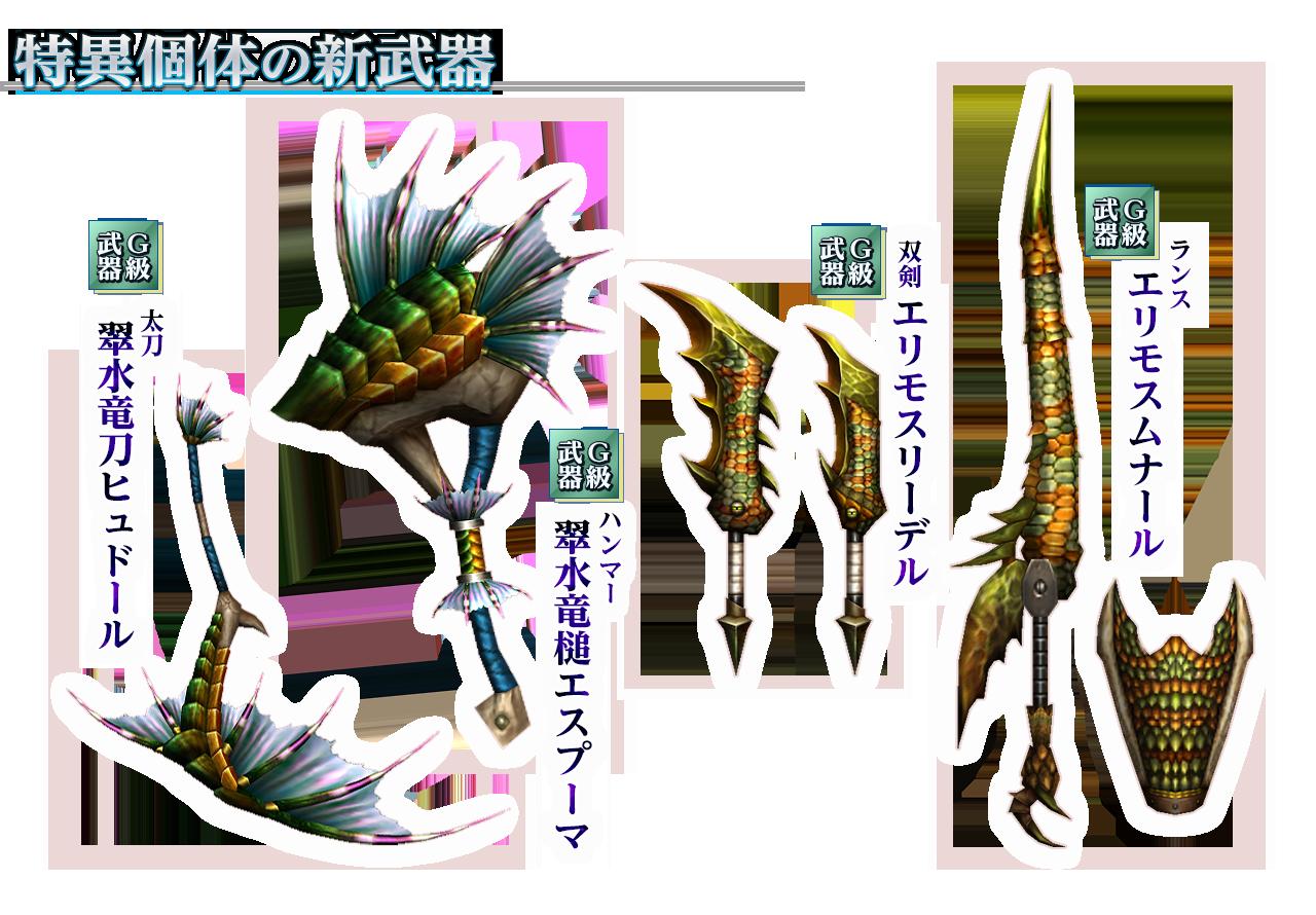 ガノゲネ武器