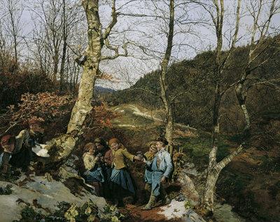 waldmuellerウィーンの森の春(1861)