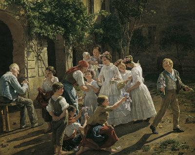 waldmueller初聖体拝領(1857)