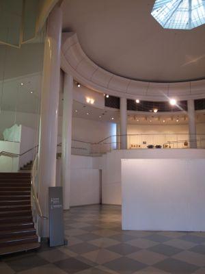 芦屋市立美術博物館内部