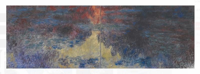 モネ睡蓮の池1916