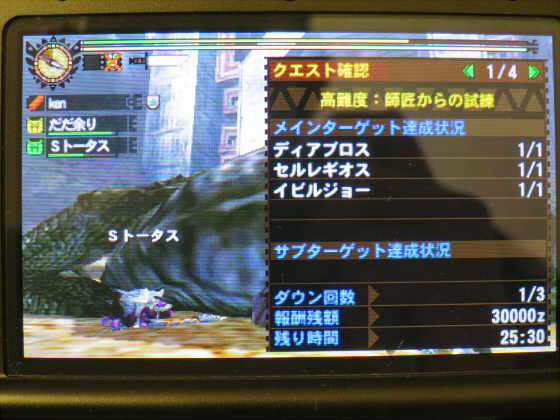 MH4G-頽廃の沼ソロ大剣04