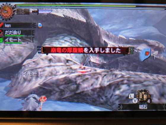 MH4G-頽廃の沼ソロ大剣10