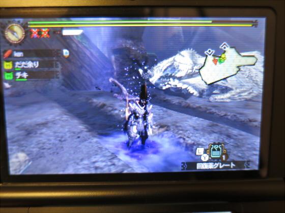 MH4G-頽廃の沼ソロ大剣37
